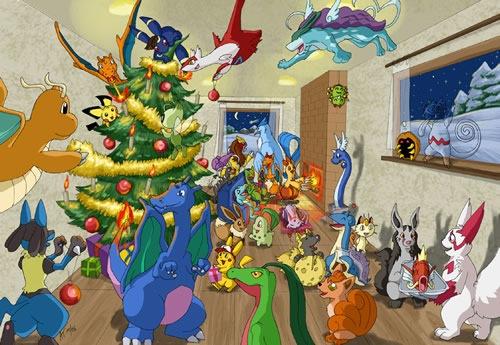 Canal Pokémon os desea ¡Feliz Navidad!